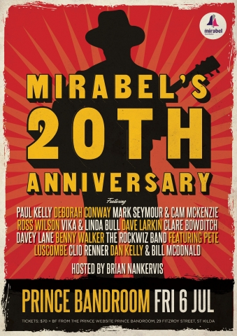 Mirabels 20th Birthday Invitation Prince Bandroom