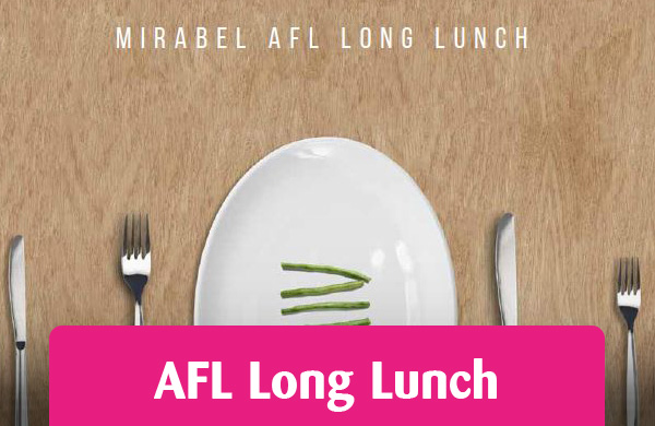 Mirabel AFL Long Lunch Feature button