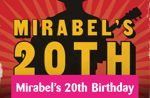 Mirabels 20th Birthday feature button